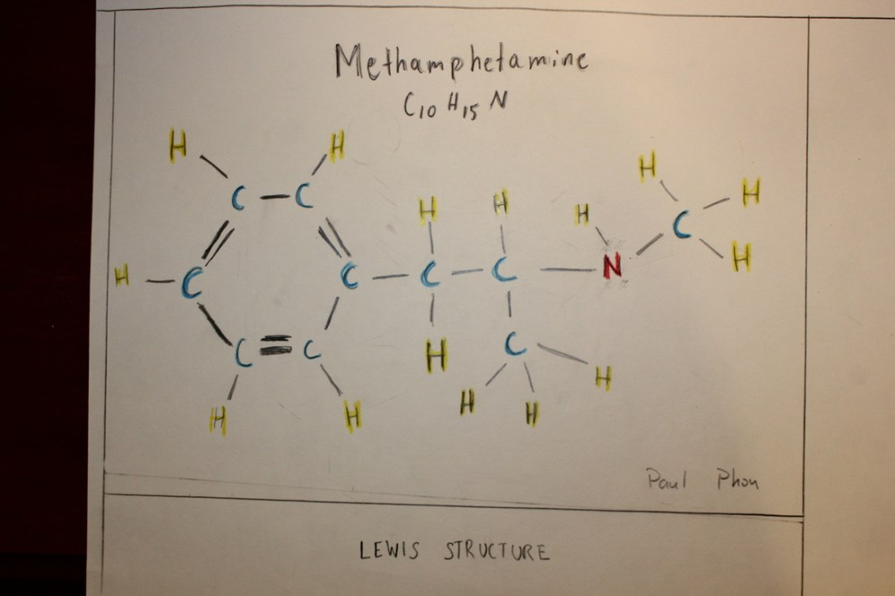 medium resolution of lewis structure picture color key blue carbon yellow hydrogen red nitrogen single line single bond