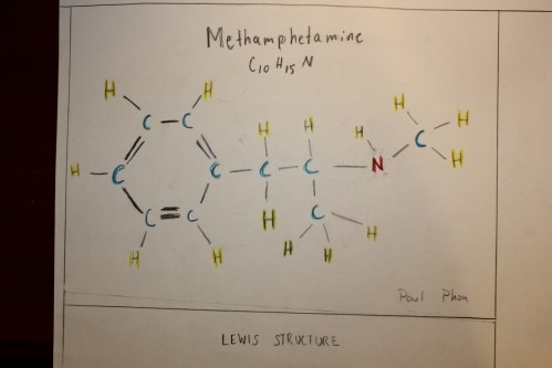 small resolution of lewis structure picture color key blue carbon yellow hydrogen red nitrogen single line single bond