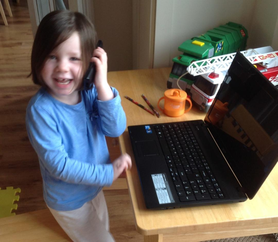 The Problems with Working From Home with a Toddler