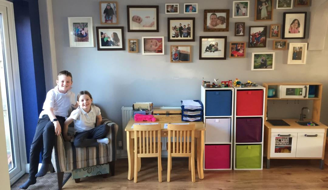 Budget living room makeover image