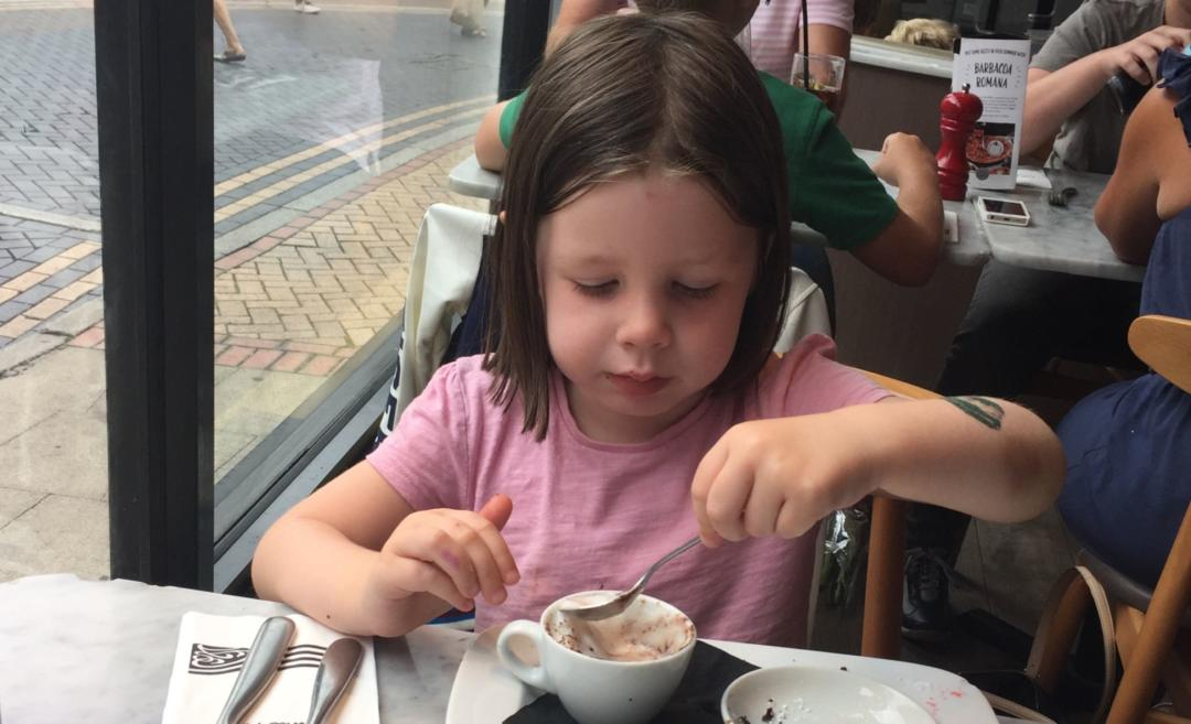 Picky eater at Pizza express