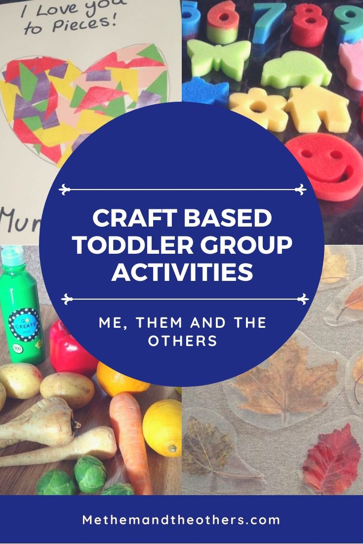 Craft based toddler group activities