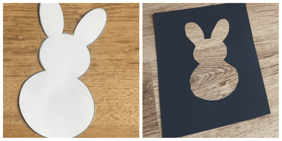 Templates for the Easter cards
