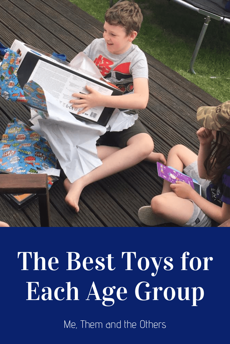 The best toys for each age group - from 0 to 10