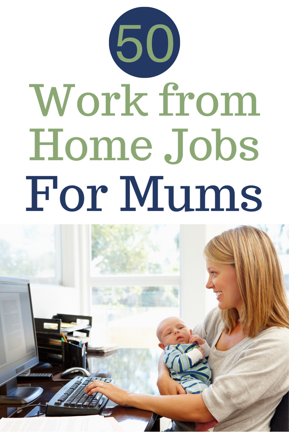 50 work from home jobs for mums