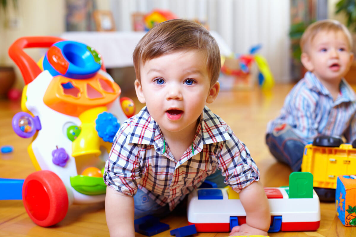 Toddler in childcare