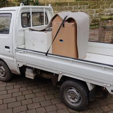 Suzuki Carry DD51T carrying scrap
