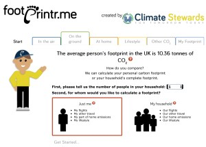Climate Stewards carbon footprint calculator