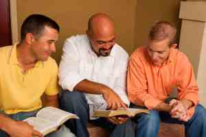 Group reading Bibles