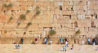 Wailing Wall of the Second Temple, Jerusalem
