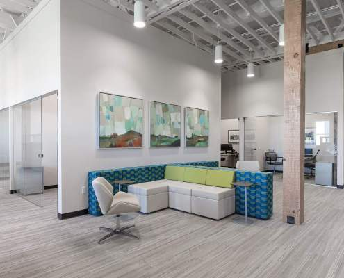 Custom Branded Interior Space