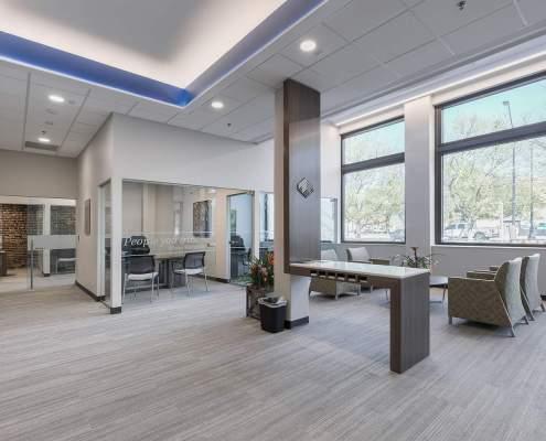 Florida bank interior