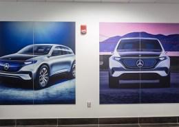 Mercedes Wall Graphics