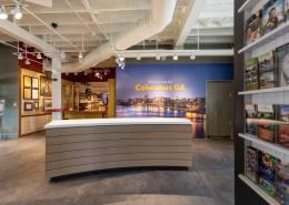 Welcome Center Reception Desk