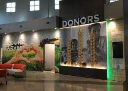 Custom Donor wall