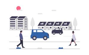 Illustration Mobilität