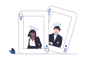 Illustration Kartenspiel