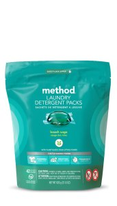 Laundry Detergent Pack 42 Load Beach Sage Front