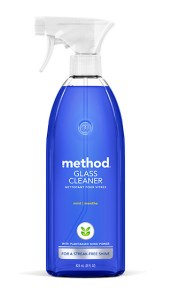 Mint Glass + Surface Cleaner 28 oz Spray Bottle Front