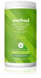 Lime + Sea Salt All Purpose Cleaning Wet Wipes 70 count Front