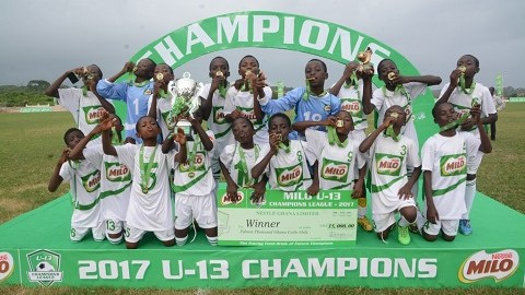 Bepong Methodist Primary wins 2017 Milo Champions League