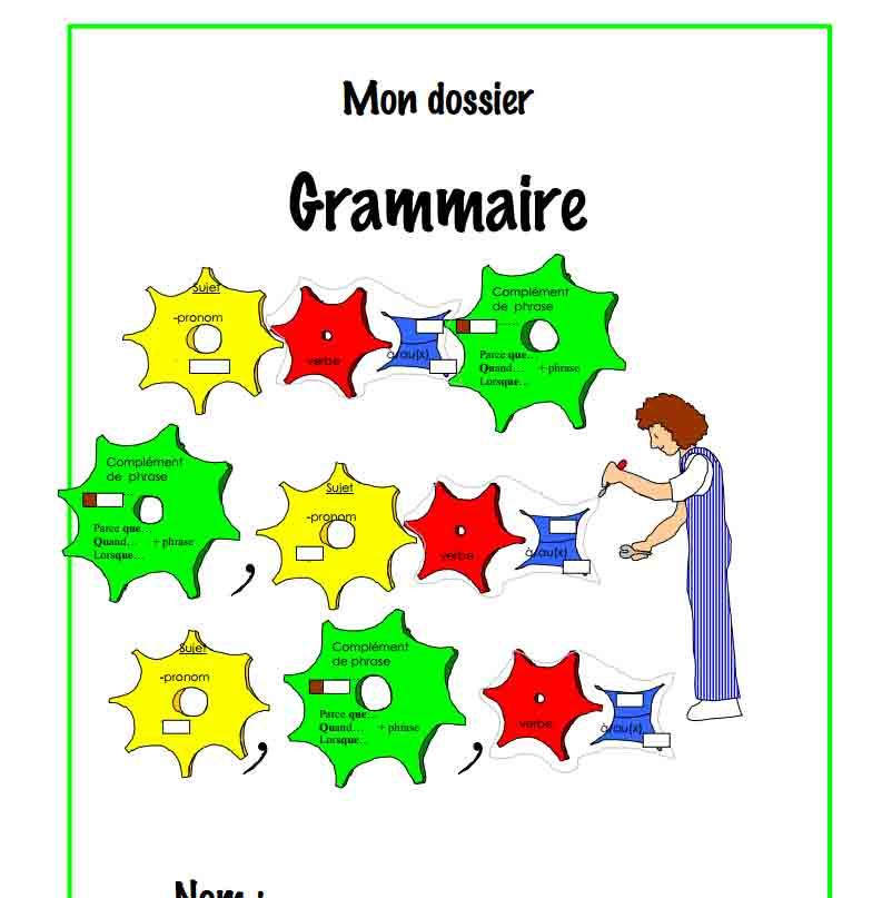 Mon dossier Grammaire