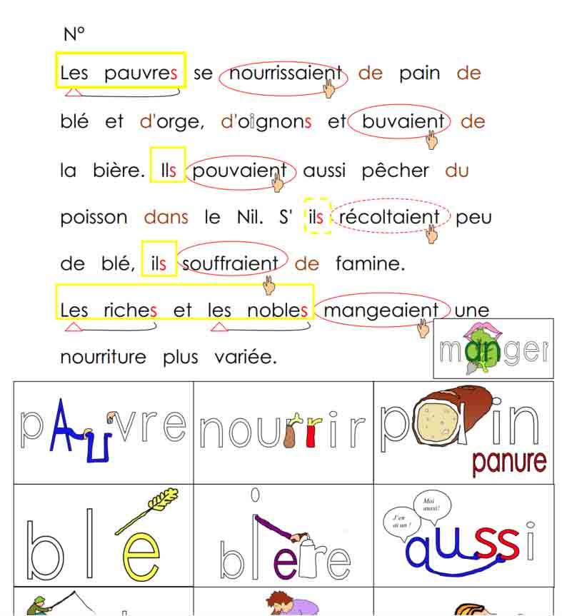 Vocabulaire Alimentation