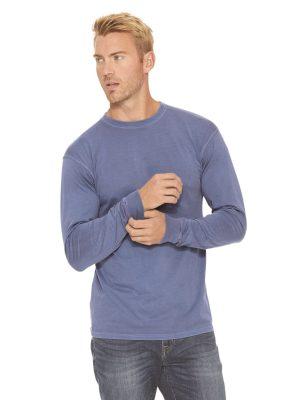 Method Screen Printing - Custom Printed Next Level Inspired Dye Long Sleeve Shirt