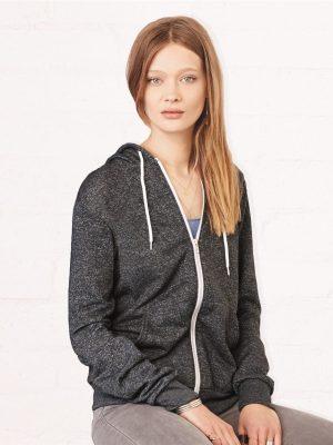 Custom Printed Bella + Canvas Full Zip Sweat Shirt