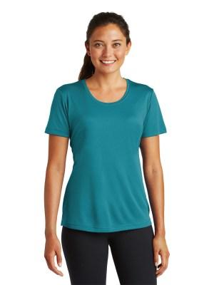 Method Screen Printing and Embroidery - Custom Printed Ladies Fit Sport-Tek Athletic Shirt