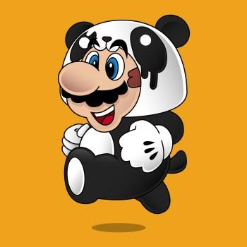 Method Printing - Super Mario Panda Power Up