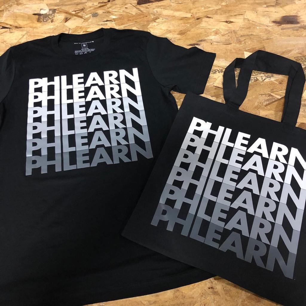 Matching Custom Screen Printed Shirts and Totes