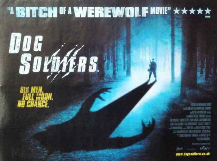 DOG-SOLDIERS quad film poster