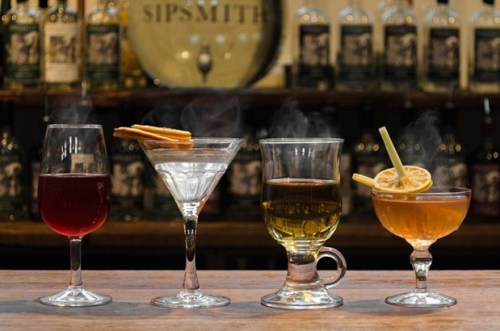 Sipsmith: Swan on a Hot Gin Roof drinks