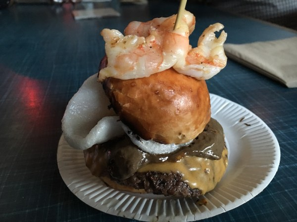 National Burger Day 2016 - UP IN MY GRILL VS PRAWNOGRAPHY