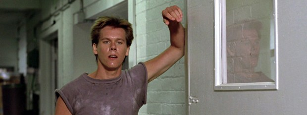 Kevin Bacon in Footloose in Prince Charles Cinema. London Film events