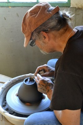 Don Ashford's pottery will be featured at the Clay Festival. File photo by Laurelle Walsh