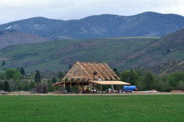 At present, any barn larger than 10,000 square feet in the Methow gets an environmental analysis. File photo by Sue Misao