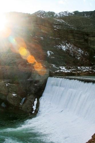 Enloe Dam. Photo by Marcy Stamper