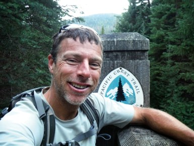 At the northern terminus of the Pacific Crest Trail, Geoff Gode completed his 2,650-mile journey on Aug. 31, 129 days after leaving the U.S./Mexico border.