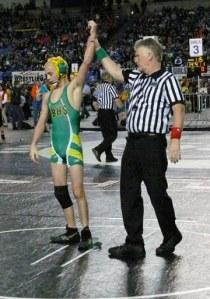Trent Skelton moved up to 120 pounds to win another title. Photo by Callie Fink