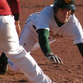 Baseball boys split 6-1 games, shut out Manson