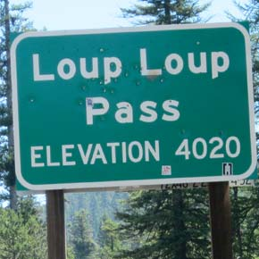 Traffic delays of up to 20 minutes likely in Loup Loup Pass area