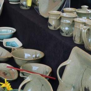 See ceramic artists working at Methow Valley Clay Art Fest