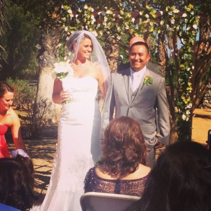 Erin Alexander Torpey married Ernesto DeGracia in Riverside, California, May 31, 2014.