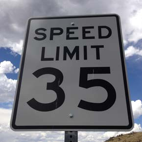 Commissioners adopt reduced speed on Gold Creek Loop Road