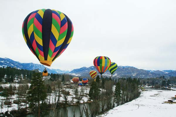 File photo by Marcy Stamper Get your camera ready for this weekend's Winthrop Balloon Roundup.
