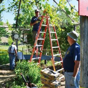 Kiwanis projects upgrade facilities at Classroom in Bloom, Little Star Montessori
