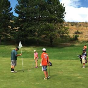 Junior Golf program concludes season with a tournament