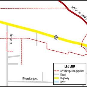 Methow Valley Irrigation District construction work begins in Twisp this week